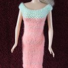 11.5 Inch Fashion Dolls Coral Pink and Mint Green Dress