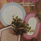 Leisure Arts Crocheted Area Rugs 1989 Crochet Pattern Leaflet 734