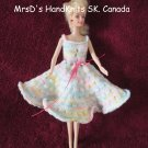"""Knit Doll Dress Multicolor Pastel for Barbies & Similar 11.5"""" Inch Fashion Doll"""