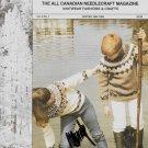 Knit & Chat Vintage Winter 1984-1985 Canadian Needlecraft Magazine Vol.4 No.1