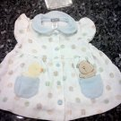 0-3 MONTHS CARTER'S  EMBROIDERED FASHIONABLE BABY GIRL DRESS L@@K!!