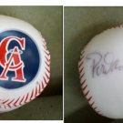 SIGNED CALIFORNIA ANGELS  1993 ROD  CAREW  & DAMION EASLEY-MLB BASEBALL SOUVENIR