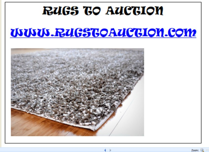 RUGSTOAUCTION.COM- DOMAIN NAME-NO ENCUMBRANCES - GREAT NAME 4 FAST SALE