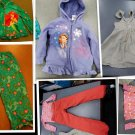 4T-5T-LOT #5 -IS 14 PCS MIXED CLOTHINGS FOR GIRLS 4T-5T L@@K!!