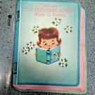 RARE OLD  MOTHER TO BE- CARD BOOKLET & STORY GREETING CARD - L@@K