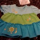 0-3 MONTHS OKIE DOKIE EMBROIDERED FASHIONABLE BABY GIRL DRESS L@@K!!