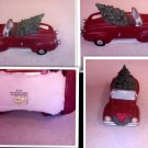 1996 -COCA COLA TOWN SQUARE ACCESSORY CONVERTIBLE WITH CHRISTMAS TREE #64337