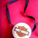 HARLEY DAVIDSON ORIGINAL TIN METAL PURSE SHOULDER BAG -L@@K