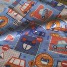 fabric buss blue  uk seller get it fast