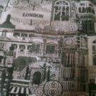 fabric London black  uk seller get it fast