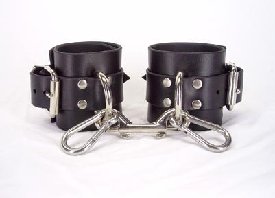 Unlined ankle cuffs