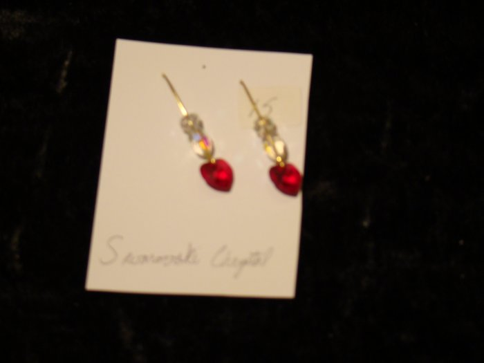 Red Heart Goldtone