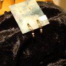 Goldstone Floating Earrings