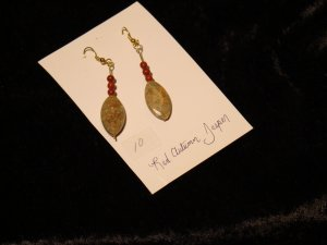 Autumn & Red Jasper Earrings