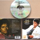 MICHAEL JACKSON Thriller 25 CD Remastered 2008 Rare Russian Edition