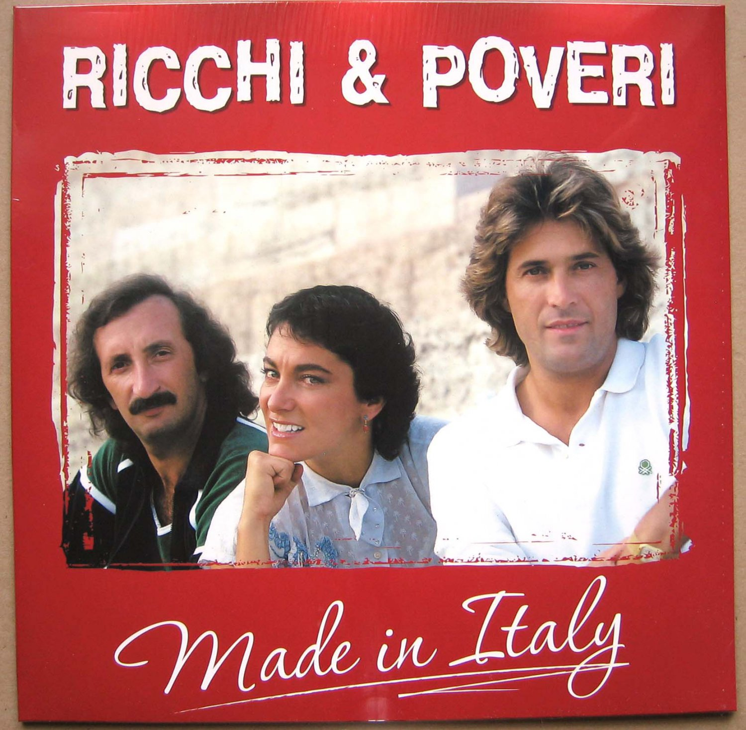 RICCHI & POVERI Made In Italy 2018 LP Sealed Nikitin Russian Edition