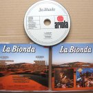 LA BIONDA 1978 Bandido 1979 CD Maximum Rare Russian Edition