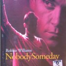 ROBBIE WILLIAMS Nobody Someday DVD 2002 Russian Edition
