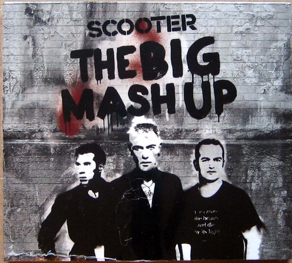 SCOOTER The Big Mash Up 2011 Russian Edition DJ Pack threefold