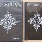 Crematory Remind 2001 DVD IROND Russian Edition