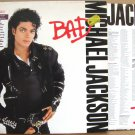 MICHAEL JACKSON Bad 1987 LP GF NMINT Holland