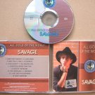 SAVAGE All Gold Of The World 2004 CD Rare Russian Edition