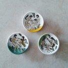Ancient Greek Satire Scenes Ceramic Magnets, kitchen magnets, fridge magnets, magnets set
