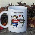 Sagittarius Mug, Zodiac Sign Mug, Astrology Mug, Zodiac Gift, stoneware, cups, coffee mugs, pottery