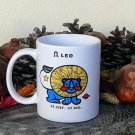 Leo Mug, Zodiac Sign Mug, Astrology Mug, Zodiac Gift, stoneware, tea cups, coffee mugs, pottery