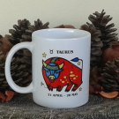 Taurus Mug, Zodiac Sign Mug, Astrology Mug, Zodiac Gift, stoneware, tea cups, coffee mugs, pottery
