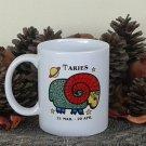 Aries Mug, Zodiac Sign Mug, Astrology Mug, Zodiac Gift, stoneware, tea cups, coffee mugs, pottery
