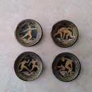Ancient Greek Olympic Games Ceramic Magnets, fridge magnets, magnets set, magnets for boards