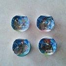 Ancient Greek Gods Ceramic Magnets, kitchen magnets, fridge magnets, magnets set, magnets for boards