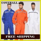 high Visibility coverall Work Clothing Mens Reflective Workwear Work coverall