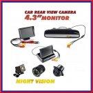 170° Waterproof Car Rear View Reverse Mount Backup Parking Camera Night Vision