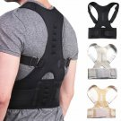 new adjustable magnetic posture corrector back support shoulder back brace belt