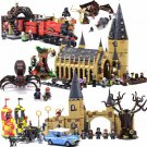 Harri Potter Hogwarts Great Hall Express Castle Building Blocks Bricks DIY Toys.