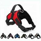 Reflective Nylon Dog Harness k9 Leash Pet Walk Out Strap Vest Collar US