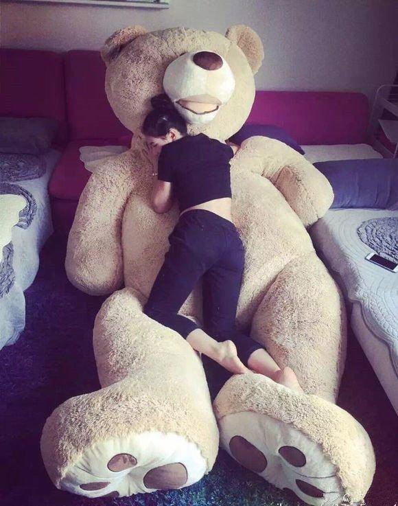 Giant Big Teddy Bear Huge Stuffed Plush Animal Toy Doll Valentine Girls Gift