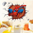 "Wall Stickers Cartoon "" Spider Man"" Pattern For Baby room"