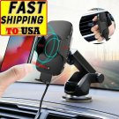 2 in 1 10W Automatic QI Car Wireless Charger For phone Infrared Sensor