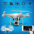 Drone 4 Channel 2.4GHz 2MP HD camera LED Lighting 6-Axis Gyro 360 degree