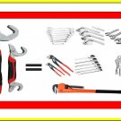 Multi-Functional Universal Wrench Set Adjustable Snap & Grip Wrench Spanner Set
