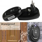 1 Remote Control 1 Wireless Doorbell Door Bell 100M Range Waterproof Doorbell