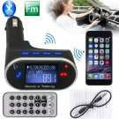 FM Transmitter Bluetooth Car Kit MP3 Player USB Charger Radio Wireless Phone