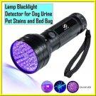 Uv Led Flashlight 51 Leds 395nm Ultra Violet Torch Light Lamp Blacklight