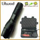 Litwod Z20 LED Flashlight XML L2 8000LM Portable tactical light Torch