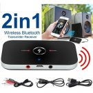 Wireless Bluetooth V4 Transmitter & Receiver A2DP 3.5mm Aux Stereo Audio Adapter