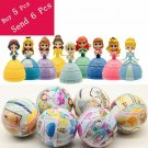 5 Inch Princess Belle Cinderella LOL Baby Dolls In Egg PVC Action Figures LOL