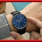 New Men's Watch 6.5mm Ultra-thin Fashion KEMANQI Watch Simple Business Quartz